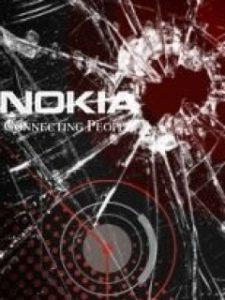 Nokia with broken screen