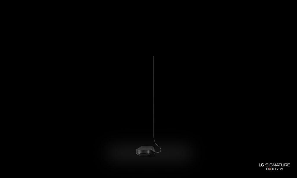 LG Signature OLED W super-thin TV