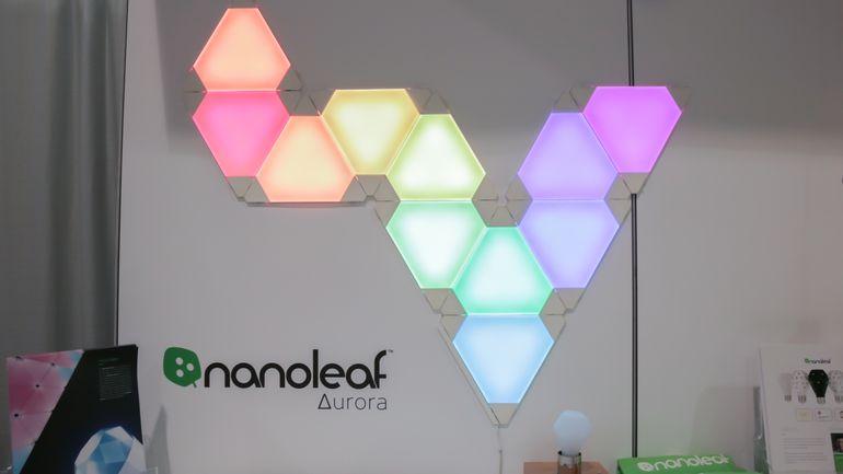 accessories for Apple - Aurora lights and Aurora Rhythm from NanoLeaf