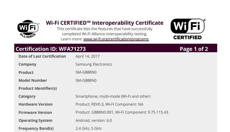 Samsung Galaxy S8 Active or Samsung Galaxy X Foldable