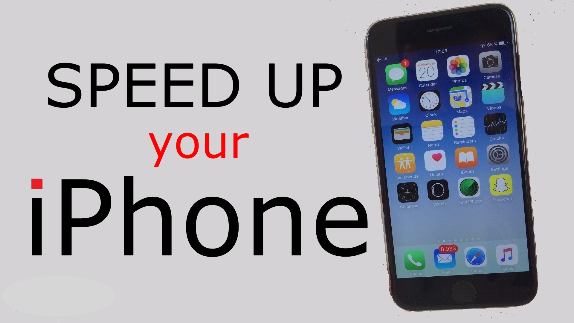 how to speed up iphone 5 how to speed up a iphone or in 5 simple steps 19108