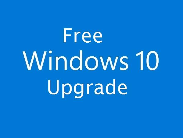 why free windows 10 upgrade