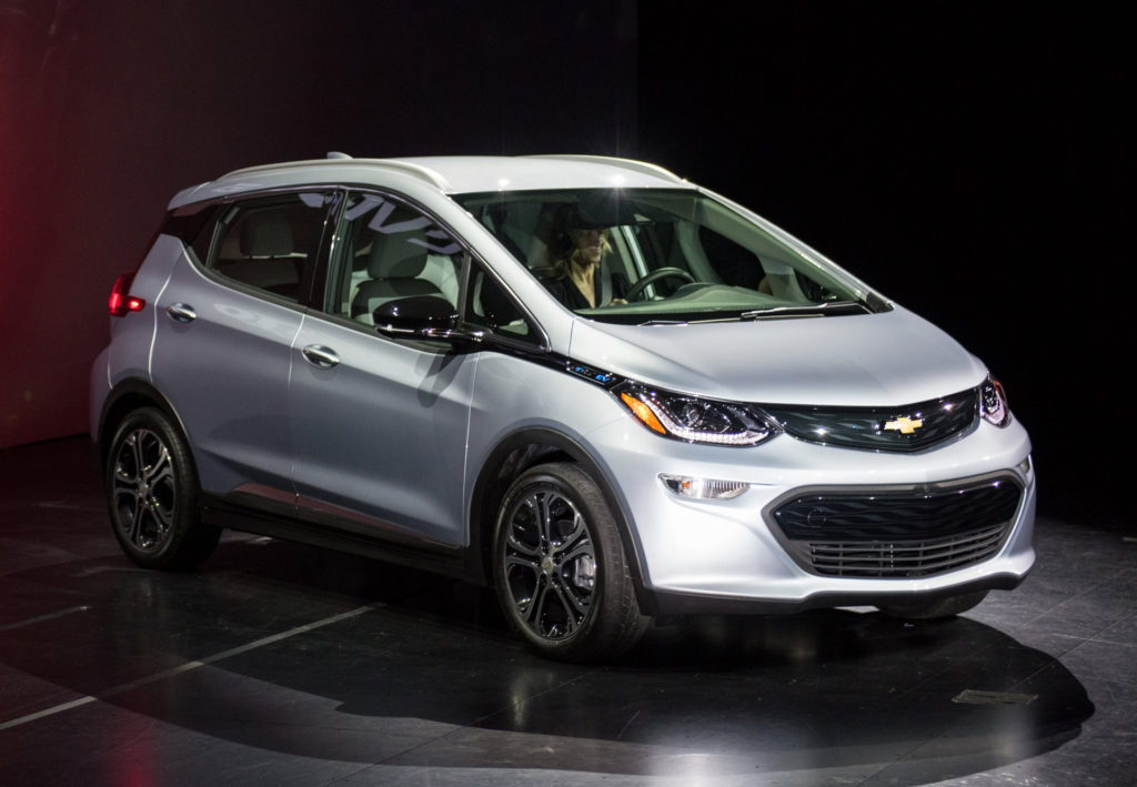 2017 Chevy Bolt all-electric vehicle currently in production