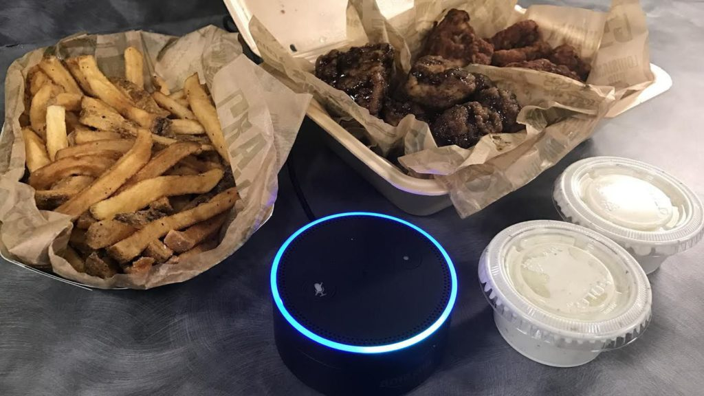 Amazon Alexa gets customizable ordering for Wingstop Inc.