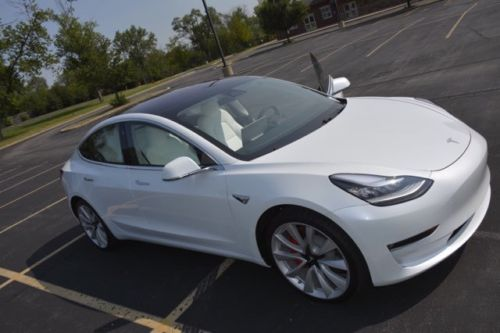 2018 Tesla Model 3 Performance Dual Motor AWD – $87,500 (company price is $64,000)