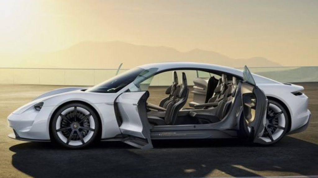 Porsche Taycan, expected late 2019 to early 2020