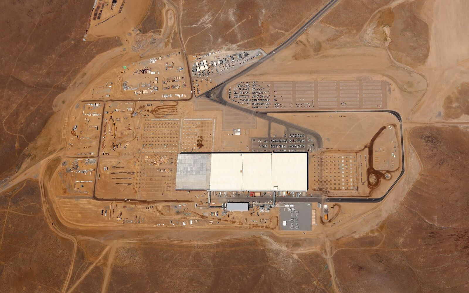 Tesla Gigafactory 1 is just one third of its potential size