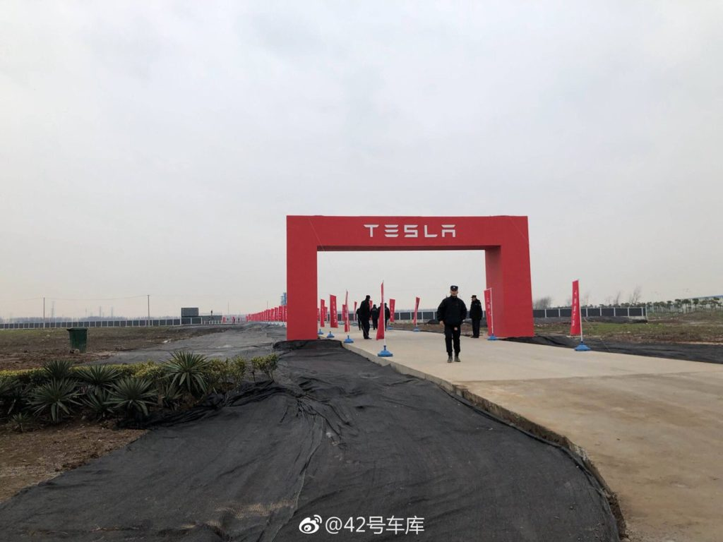 Tesla Gigafactory 3 site in China