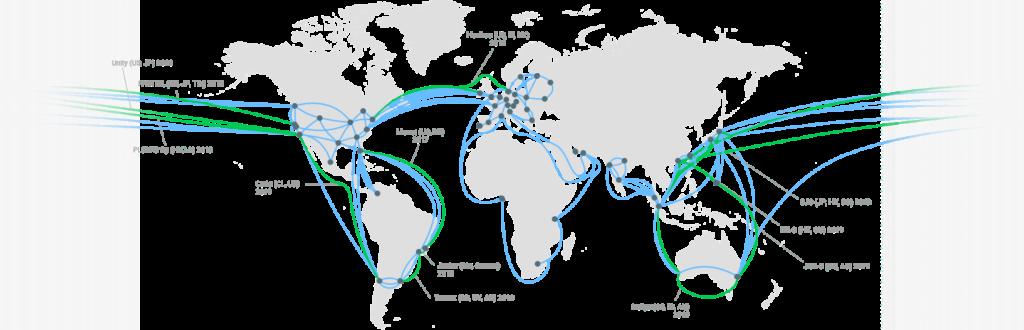 Google Cloud Network: Edge Locations