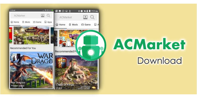 ACMarket App: Non-Root Alternative to Get Tweaked Apps for Android